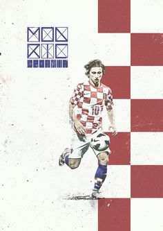 Modric - Croatia/Croacia - Mundial Brasil 2014 - Brazil World Cup 2014. KEY PLAYERS by Giuseppe Vecchio Barbieri