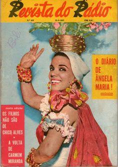 Aurora na capa da Revista do Radio de 21 Setembro 1957