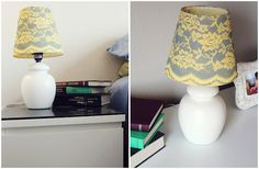 Lace Lamp Shade – Guest Post