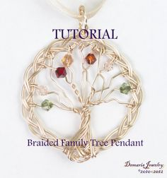 Braided Family Tree | JewelryLessons.com