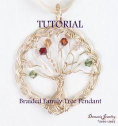 Braided Family Tree | JewelryLessons.com
