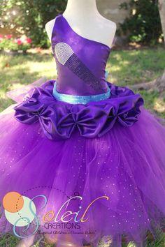 Barbie Inspired Keira Pop Star Tutu Dress
