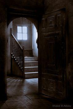 Beit El Sehemy Window Reveal Wooden Doors Dark Room