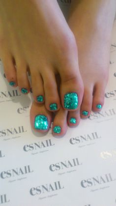 Turquoise nails ❤