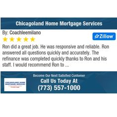Ron did a great job. He was responsive and reliable. Ron answered all questions quickly...