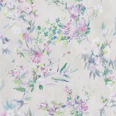 Faience Linen Wallpaper   Designers Guild