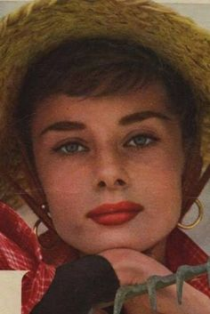 Audrey Hepburn photographed in 1953 by Milton H. Greene for the cover of the March 23,1954 issue of Look Magazine.
