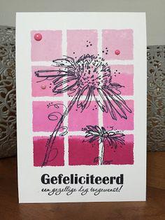 Daantje Scrapt: Darkroom Door Shadow 12up Frame Stamp and Fine Flowers Rubber Stamp Set