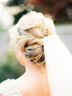 #hairstyles, #hairstyle  Photography: Krista A. Jones - kristaajones.com Wedding Dress: Allure Bridals - http://www.allurebridals.com/