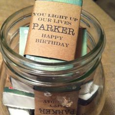 Birthday Party Favor For Men Matches & Packing Paper