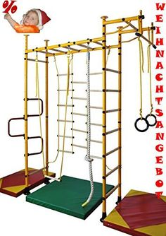 Children Gymnastic Equipment Jungle Gym Wall Bars