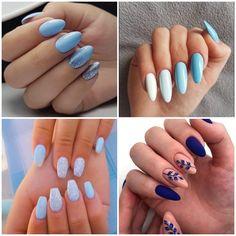 Inspirações de Unhas em Tons de Azul