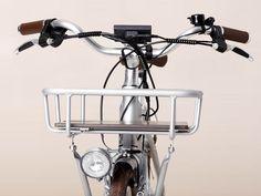 vélo électrique design avec panier Bike, Vehicles, Design, Modern Retro, Electric, Basket, Bicycle Kick, Bicycle, Bicycles