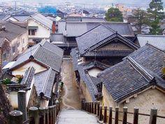 雨にくもる竹原 - Takehara, on a rainy day・・・
