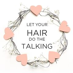 hair extensions Let your hair do the talking! Hair Qoutes, Hair Salon Quotes, Hairdresser Quotes, Hairstylist Quotes, Hair Quotes Inspirational, Hair Captions, All Virgin Hair, Luxy Hair, Home Hair Salons