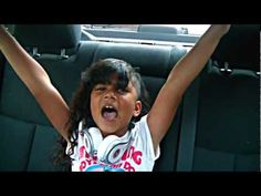 """Baby Kaely  7 years old rappin in car """"Bully Bully Bully"""""""