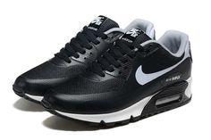 Nike Air Max 90 Zapatos De Hombre Blanco Negro 3067