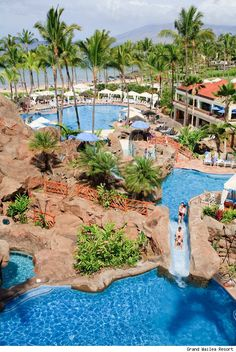 Grand Wailea Resort, Maui -love it here, cannot wait to hang out with my husband here!