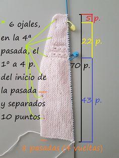 Baby Sweater Knitting Pattern, Easy Knitting Patterns, Knitting For Kids, Knitting Designs, Baby Knitting, Diy Crafts Knitting, Diy And Crafts Sewing, Baby Barn, Baby Coat