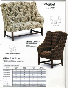 Awesome Carolina Country Furniture  Millers Creek Series. Great Country Prim Fabric  Choices.