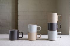 Hasami Porcelain Mug Cup Black Small/Medium - Kurasu