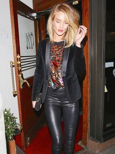 Rosie Huntington-Whiteley's Date Night Outfit Is a Must-Try