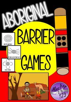 Aboriginal Barrier Games- great for NAIDOC Week