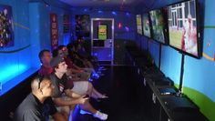 Our public gaming tournaments have been a big hit, but you can actually rent our mobile gaming unit for your own personal gaming tournament! Get some buddies together, chip in and we'll set you up with your own private gaming tournament via XBOX link! This is also a great idea for a kids birthday party here in NWA! Visit roadkinggames.com or facebook.com/roadkinggames to find out more!