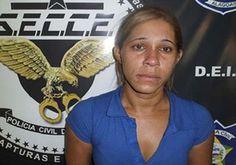 DE OLHO 24HORAS: Mulher suspeita de encomendar morte do marido é pr...