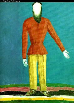 Peasant by Kazimir Malevich 1928-32