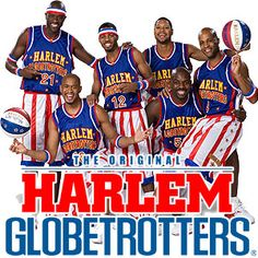 Harlem Globetrotters-came to the YMCA in Chapel Hill, NC where I was working. They were great with the kids, and so fun to watch!