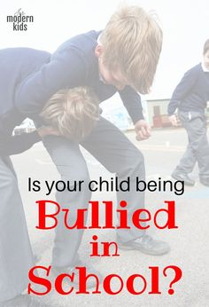 The best way to stop bullying is to prevent it before it starts. But, if you realize it's happening to your child there are things you can do to stop it.