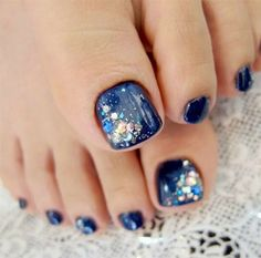 Inspiring Winter Toe Nail Art Designs, Ideas, Trends & Stickers 2015