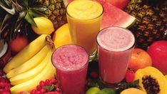 Healthy food list for kids diet free recipes Smoothie Curcuma, Turmeric Smoothie, Smoothie Packs, Smoothie Diet, Smoothie Recipes, Fruit Smoothies, How To Make Smoothies, Healthy Green Smoothies, Healthy Smoothie Recipes