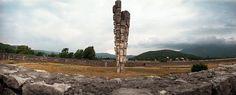 """Podhum  Monument by Sime Vulas """"Spomenik podhumskim zrtvama"""" built 1970"""