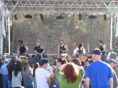 Scottish drums & bagpipes - Carolina BalloonFest 2013 (#2 of 4)