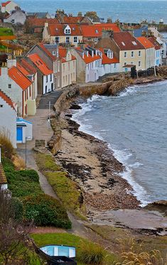 Pittenweem, a small and secluded fishing village in Fife, Scotland