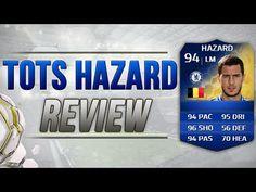 FIFA 14 TOTS HAZARD PLAYER REVIEW   FIFA 14 HAZARD TOTS RECENSIONE