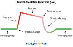 anxiety attack symptoms General Adaptation Syndrome (GAS)