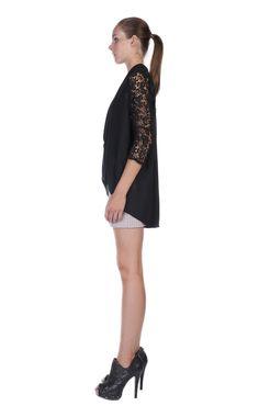 Eloisa Cowl Top | BLACK - #stellaandjamie #makeityourown #fashion #giveaway : http://www.stellaandjamie.com/makeityourown-pinterest-contest/
