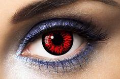 Lentilles Fantaisie Vampire Rouge 1 an