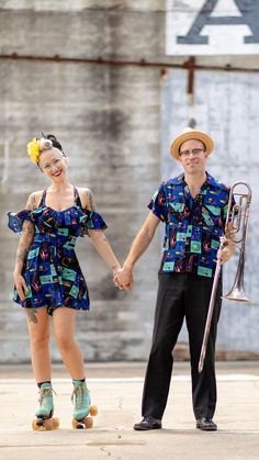 in our Preservation Hall print's Hollywood Top/Shorts & Fred Shirt! Clothing And Textile, Antique Clothing, Size Clothing, New Orleans Music, Preservation Hall, Trashy Diva, Beat Generation, Hands Together, New Print