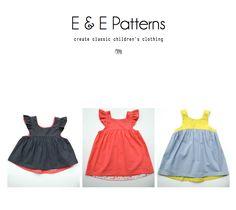 Elegance & Elephants: Bohemian Babydoll Dress and Top Pattern $9