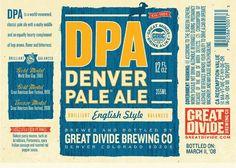 Great Divide Denver Pale Ale Label