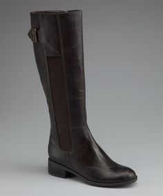 Take a look at this Brown Aselia Boot by Fashion Savvy: Women's Boots & Shoes on #zulily today!