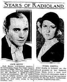 May 2, 1932: Jack Benny's radio program debuts, broadcast on the NBC-Blue Radio Network.