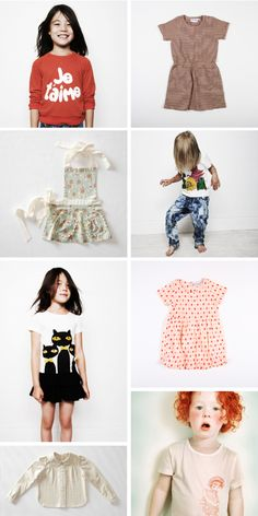 super cute clothes for kids..just luv the last pic...such a doll!
