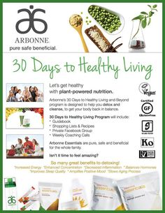 Try our 14 or 30 day healthy living challenge!! I can help you choose just the right products to help you! Comes with menus and shopping lists and a closed Facebook support group! Super discounts and products delivered right to your door!!   Sfmischio@gmail.com