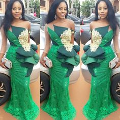 Aso Ebi Styles for Wedding Guest African Lace Styles, African Dresses For Women, African Print Dresses, African Print Fashion, Africa Fashion, African Fashion Dresses, African Attire, African Wear, African Women