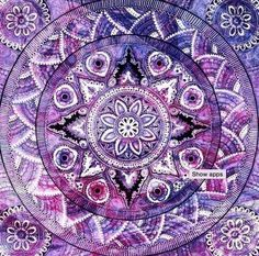 Mandala's are sacred pieces of artwork which are used to evoke healing, spiritual development and meditation. The word Mandala means 'sacred circle' and is derived from the word 'mandra' which means 'container of essence